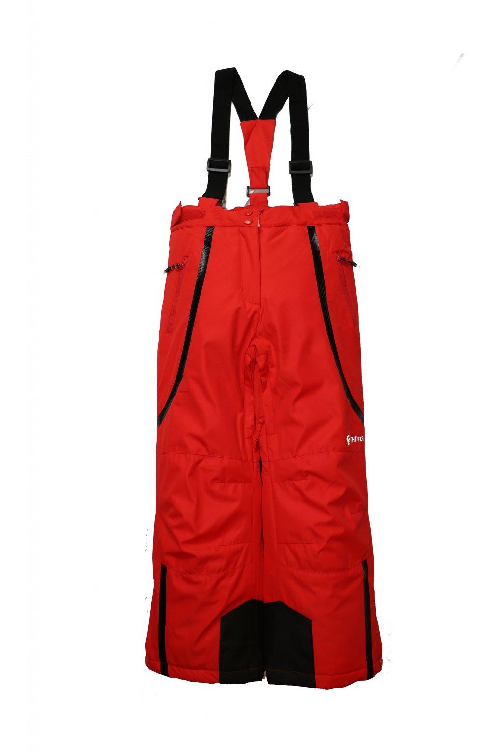 Dětské lyžařské kalhoty HB01-M1 červené