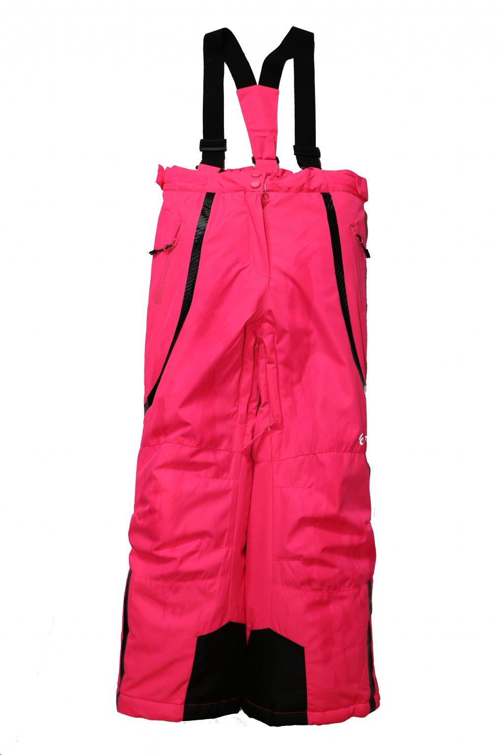 Dětské lyžařské kalhoty HB01-M1 růžová