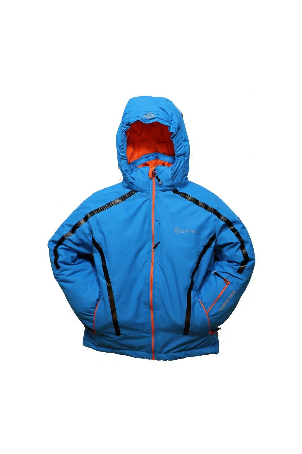 Dětská zimní bunda HA01-M1 modrá vel. 104-134 cm