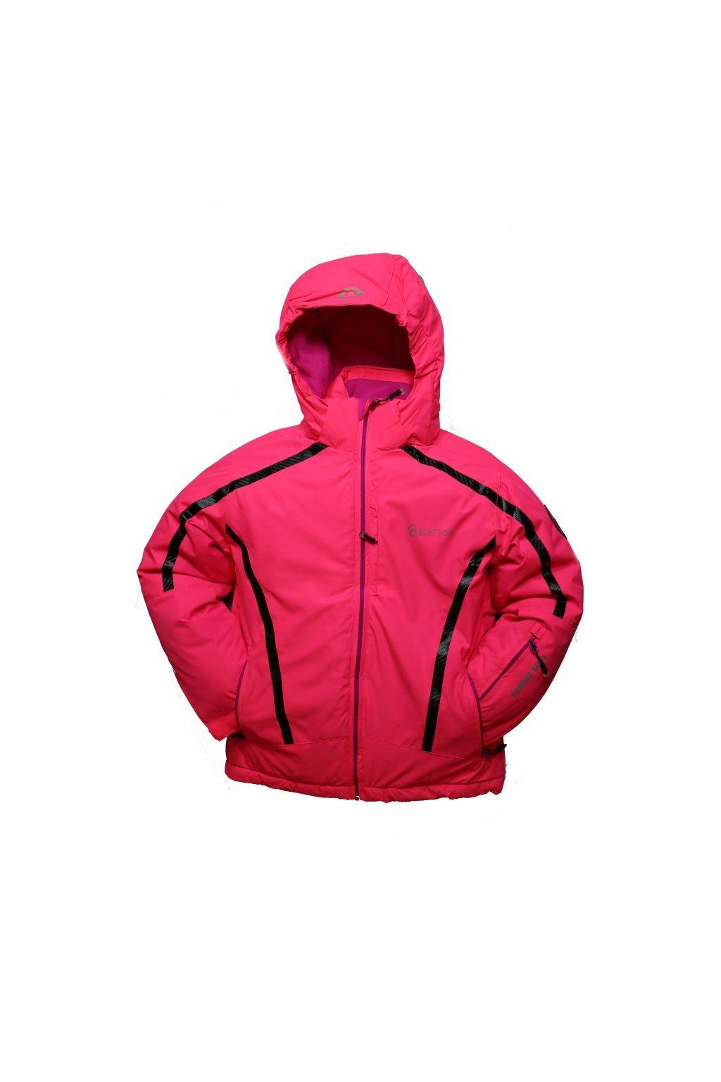 Dětská zimní bunda HA01-M1 růžová vel. 104-134 cm