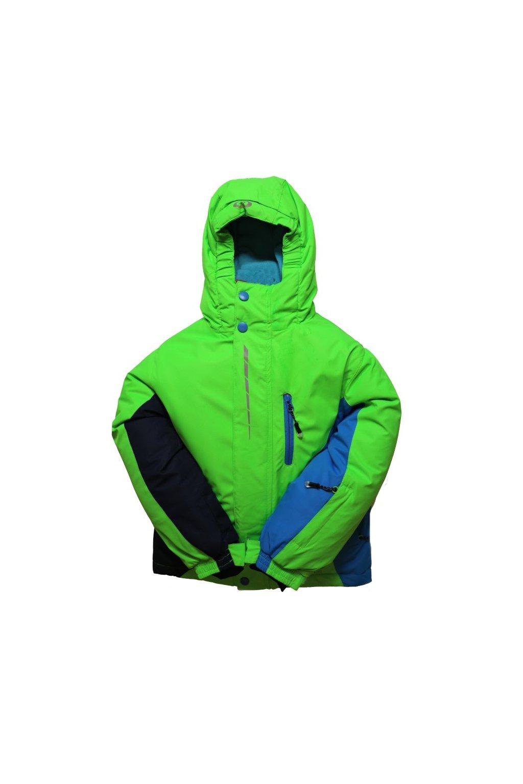 Dětská zimní bunda HA02-M1 zelená vel. 104-134 cm
