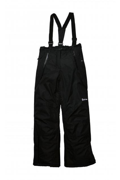 Dětské lyžařské kalhoty HB01-M1 černá