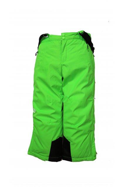Dětské lyžařské kalhoty HB02-M1 zelená