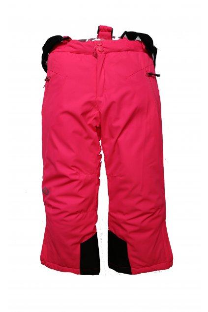 Dětské lyžařské kalhoty HB02-M1 růžová