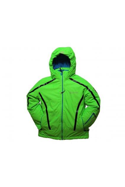 Dětská zimní bunda HA01-M1 zelená vel. 104-134 cm