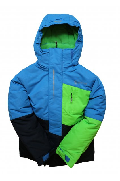 Dětská lyžařská bunda HA03-M1 modrá vel. 104-134 cm