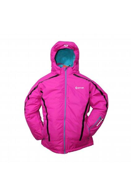 Dětská zimní bunda HA01-M2 fialová vel. 134-164 cm