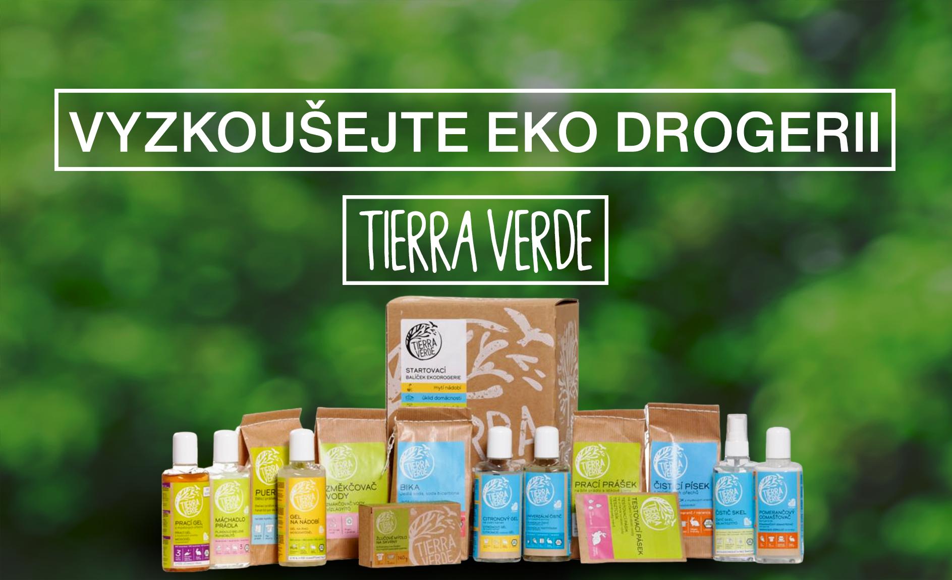 Eko drogerie Tierra Verde