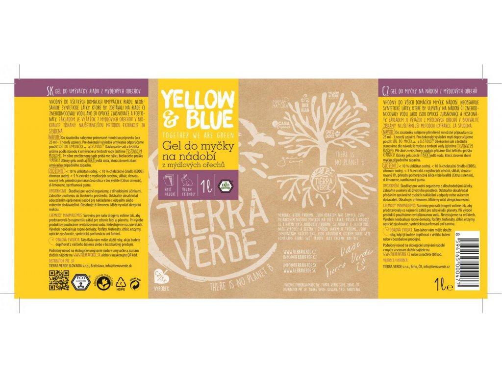 produkt yellow and blue gel do mycky na nadobi z mydlovych orechu 1 l 3