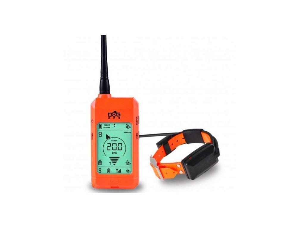 Satelitný GPS lokátor Dogtrace DOG GPS X20 orange