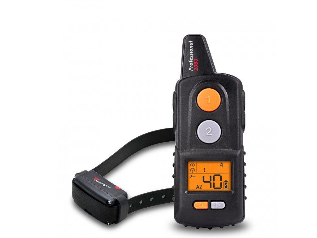 Elektronický výcvikový obojok DOGTRACE d-control PROFESSIONAL 2000 ONE