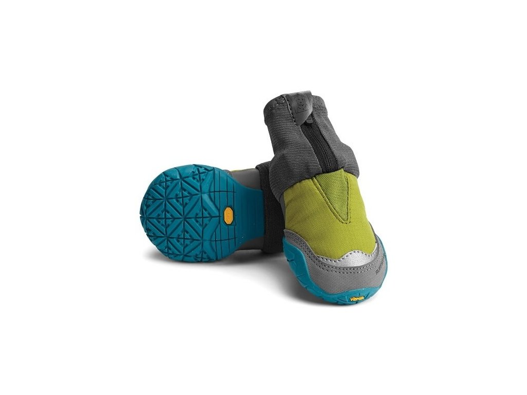 outdoorov obuv pre psy ruffwear polar trex forestgreen pair