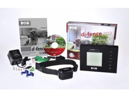 Elektronický neviditelný ohradník Dogtrace d-fence 202 - BLACK