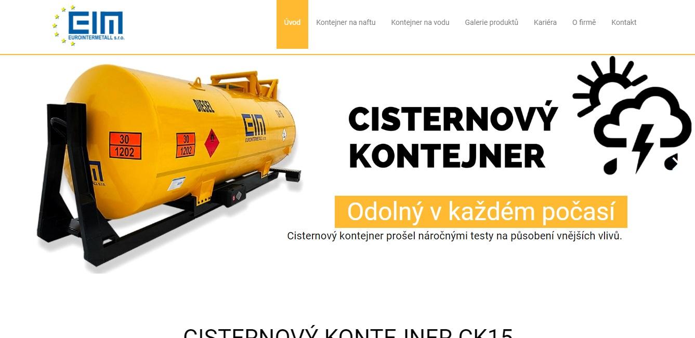 Cisternový kontejner - Eurointermetall
