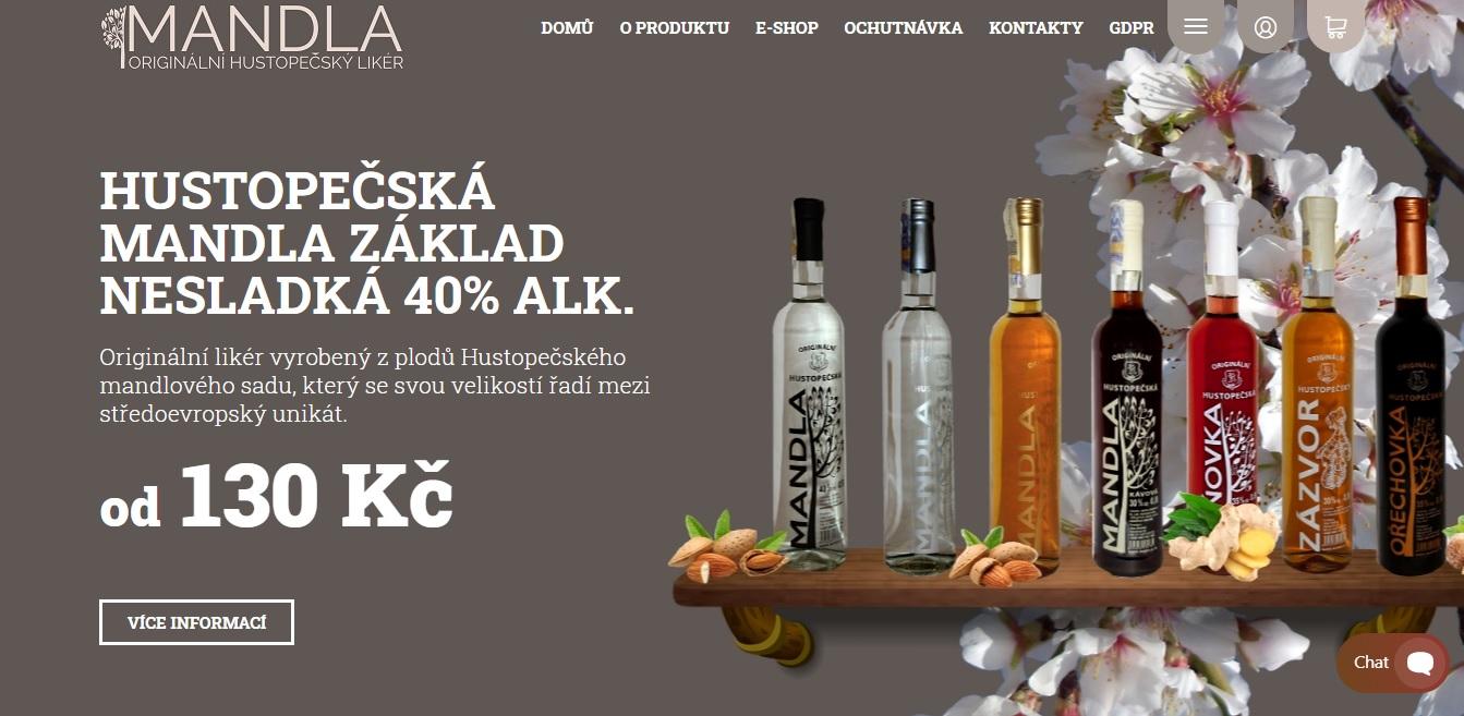 Mandla - originální likéry