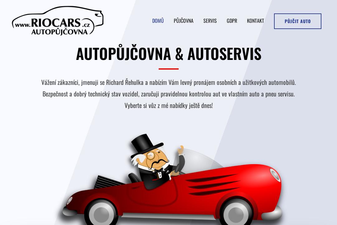 RIOCARS - autopůjčovna a autoservis