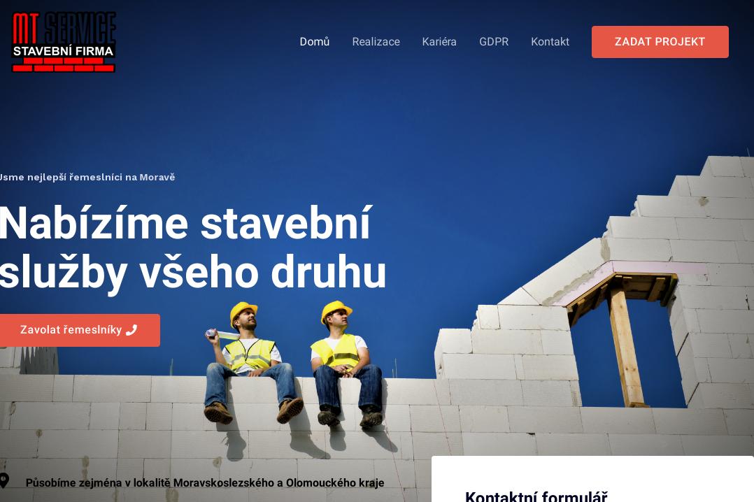 MT SERVICE - stavební firma