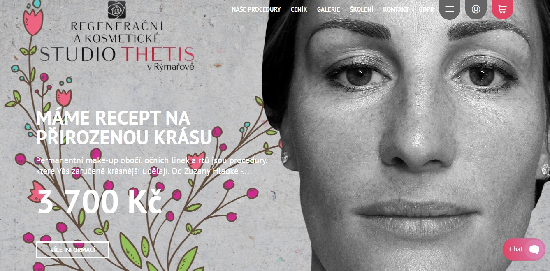 Studio Thetis - kosmetické služby