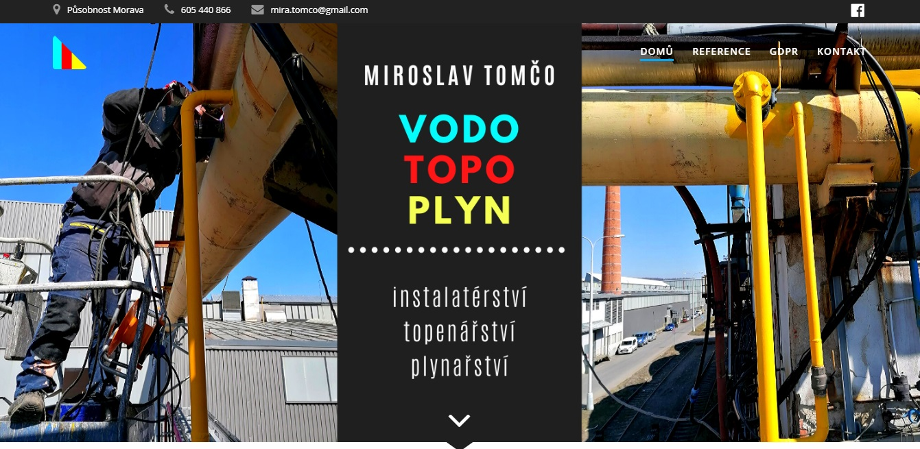 Vodo-Topo-Plyn Miroslav Tomčo