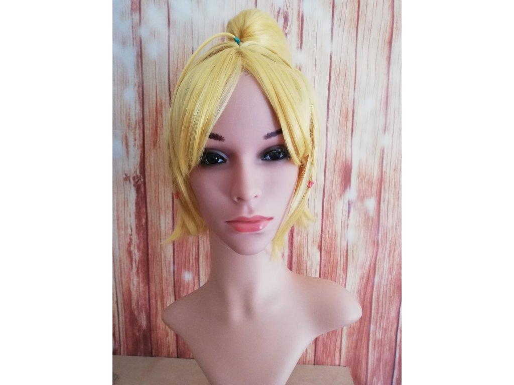 Zero felt cosplay blond krátká paruka