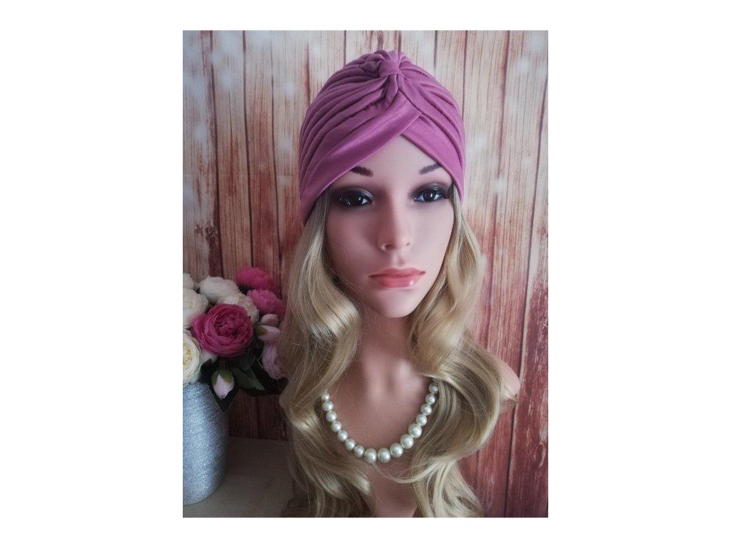 Dámsky Turban - růžový