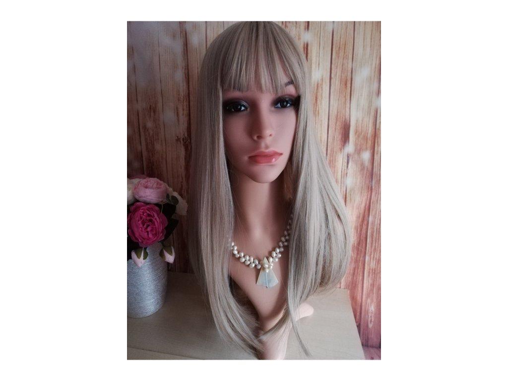 Mary - dlouhá blond paruka
