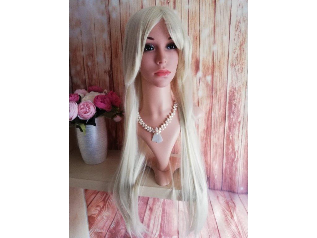 Emily dlouhá blond paruka