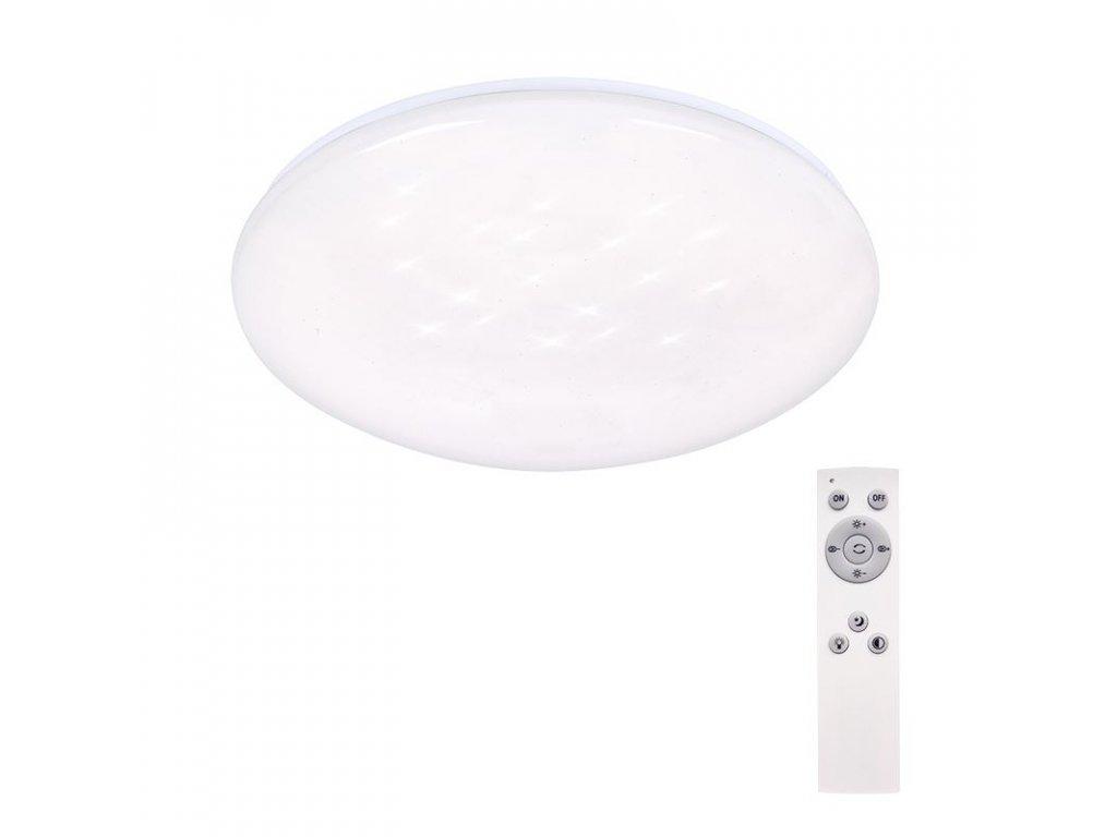 Solight LED stropní světlo Star, kulaté, 24W,1440lm, dálkové ovládání