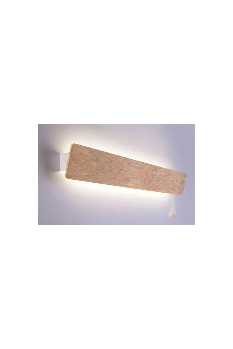 Dřevěná nástěnná svítidla