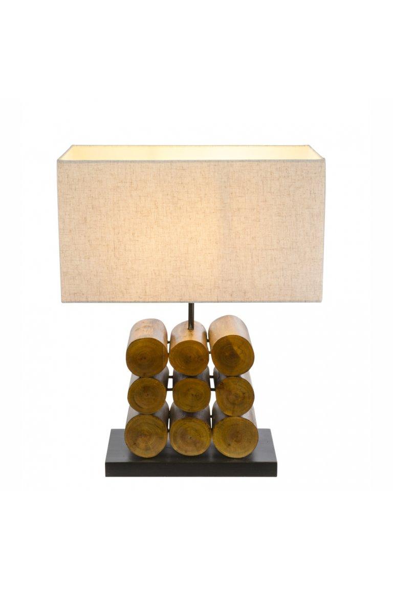 Dřevěné lampy a lampičky