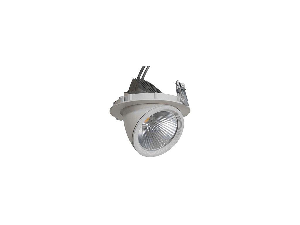 GIMBAL LED COB DOWNLIGHT 15W/940 45° CRI90+ Ø109x85mm IP20
