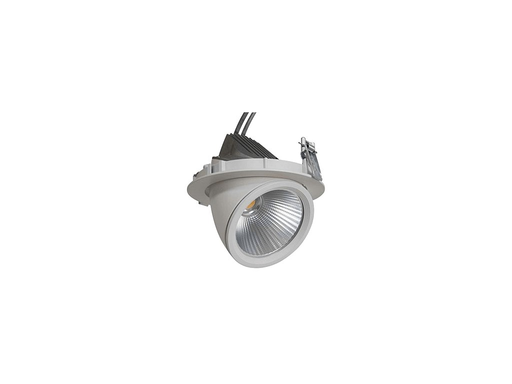 GIMBAL LED COB DOWNLIGHT 30W/940 24° CRI90+ Ø165x140mm IP20