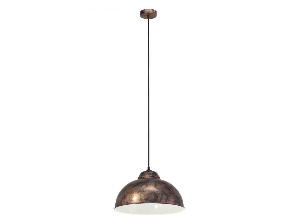EGLO 49248 závěsné svítidlo TRURO 2 E27 1x60W