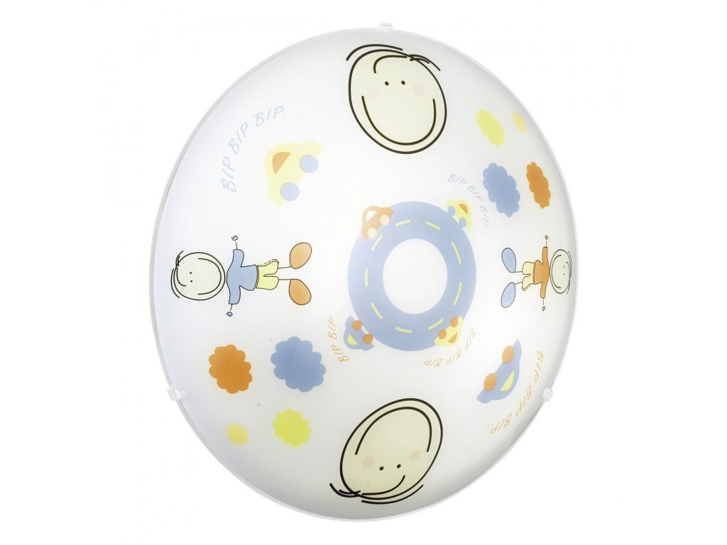 EGLO 88972 stropní/nástěnné dětské svítidlo JUNIOR 2 E27 2x60W