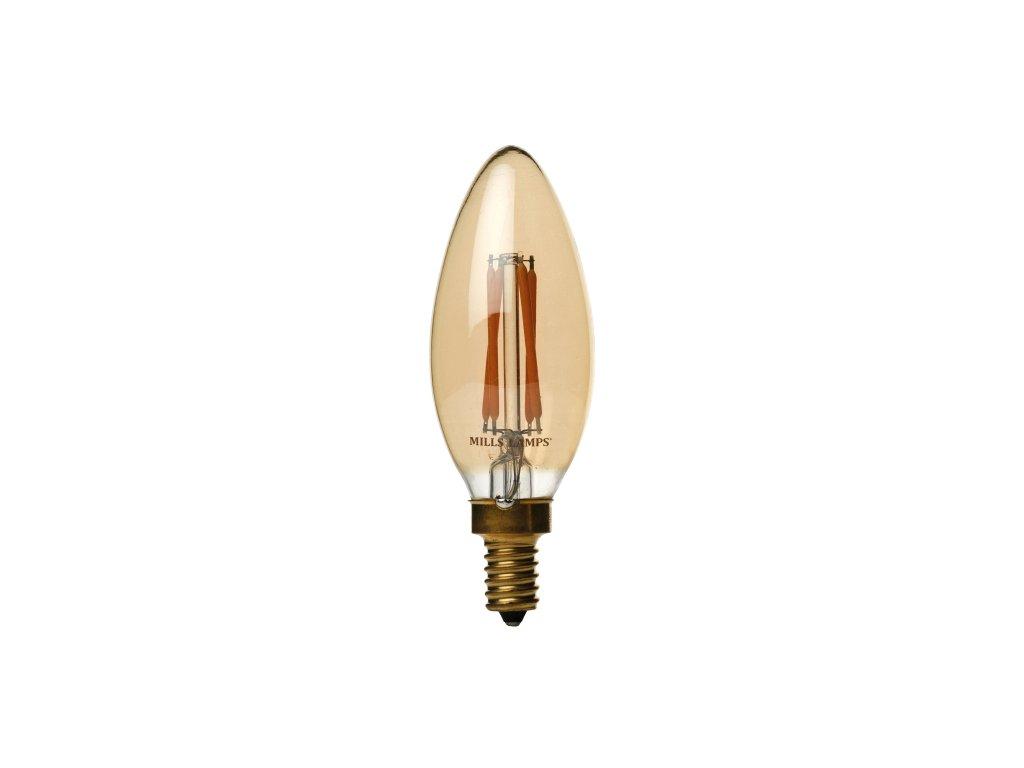 V-TAC Retro LED žárovka Candle 4W E14 VT-1955 2200K, 350lm