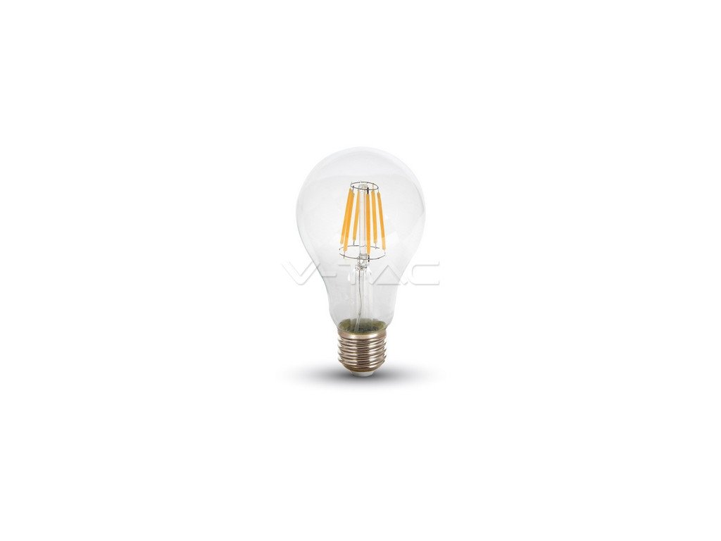 V-TAC LED žárovka Filament Bulb 10W 1055lm E27 VT-1981 – Neutrální bílá 4500K