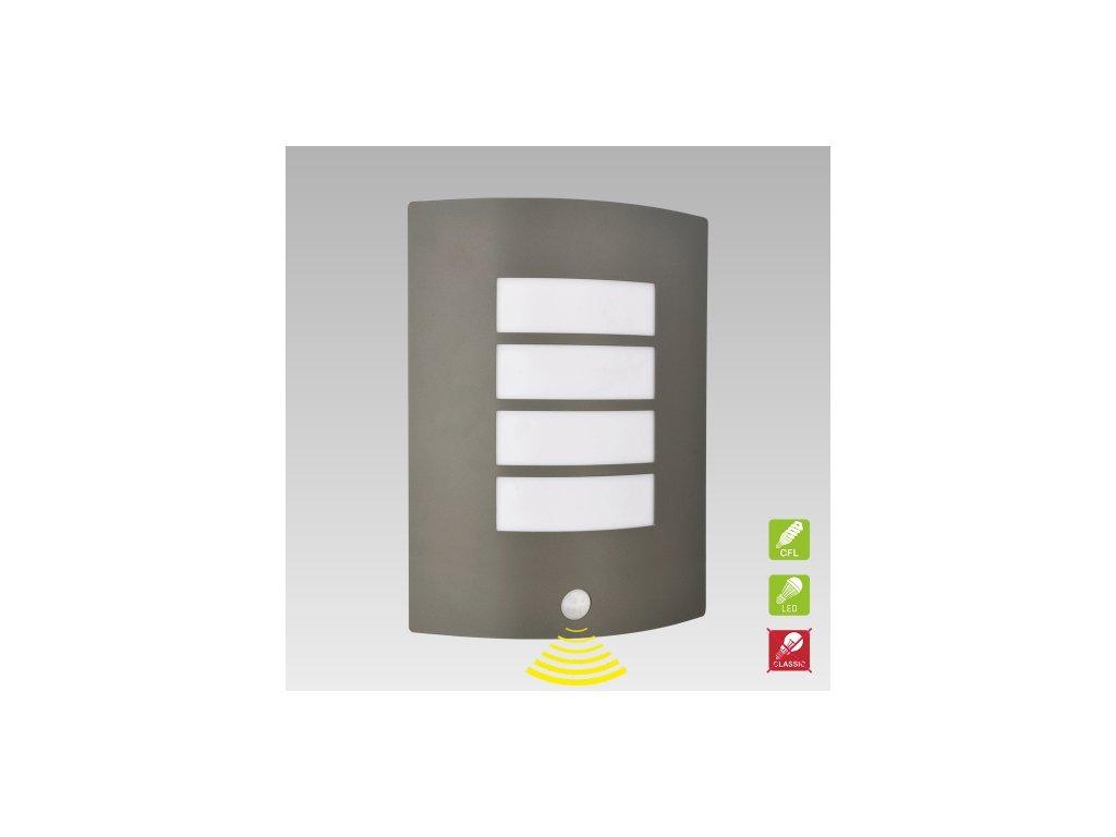 PREZENT 61022 MEMPHIS venkovní nástěnné svítidlo se senzorem pohybu