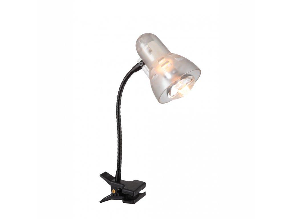 GLOBO 54850 lampička se skřipcem CLIP