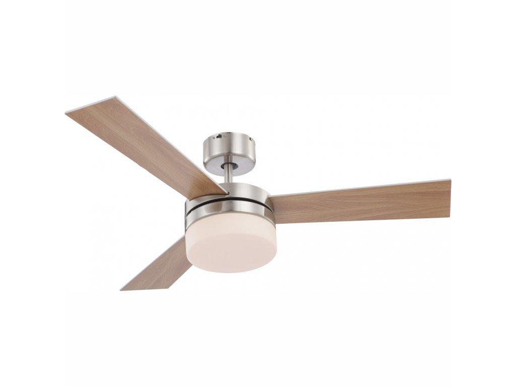 GLOBO 0333 stropní ventilátor se světlem ALANA