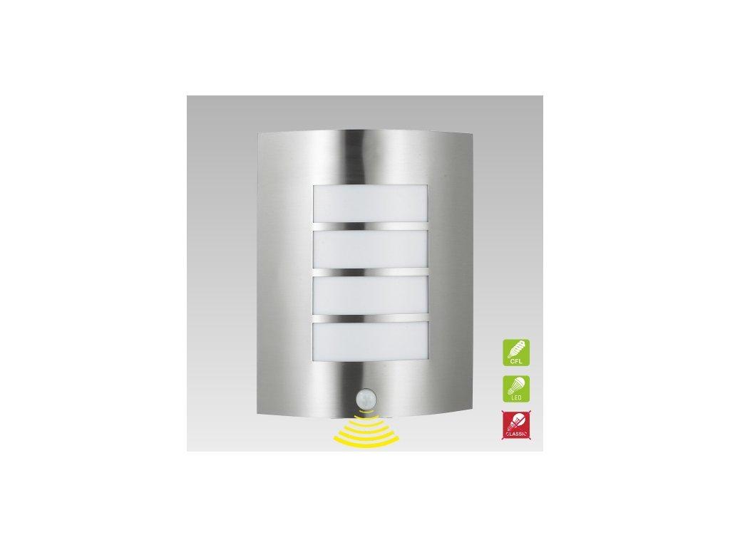 PREZENT 61016 MEMPHIS venkovní nástěnné svítidlo se senzorem pohybu
