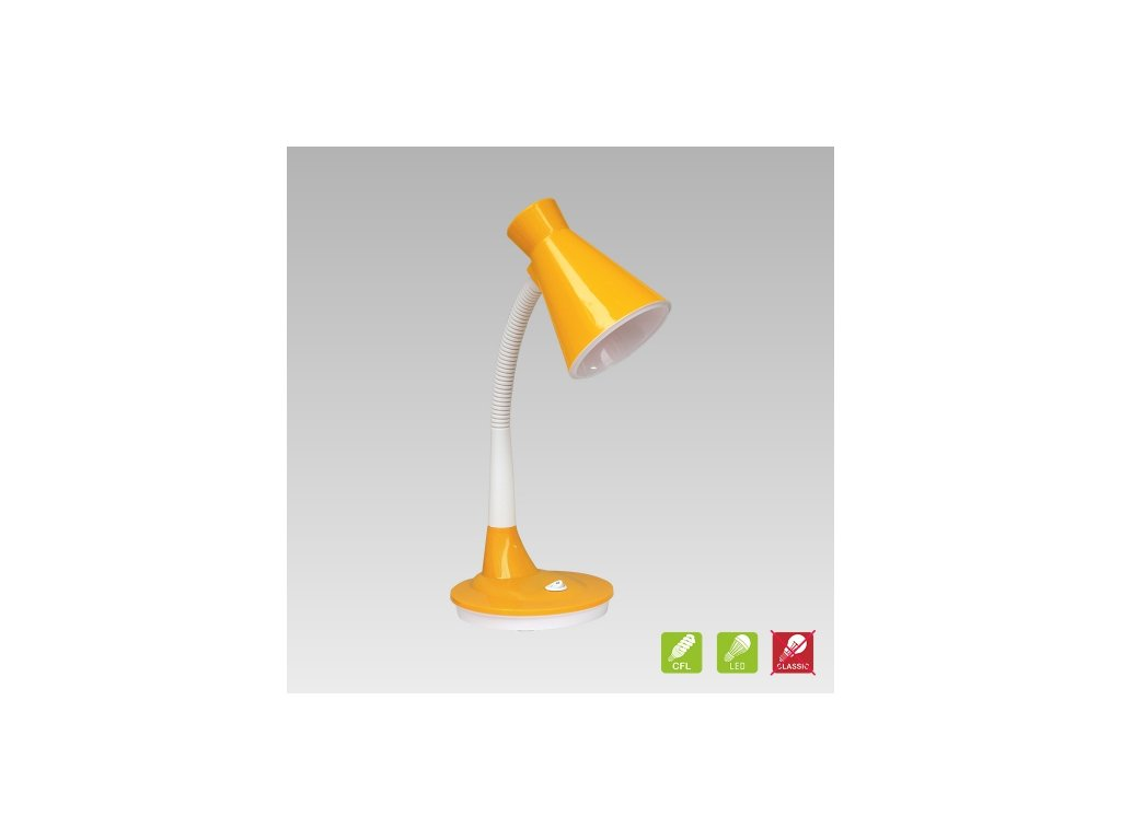 Prezent Lampa PAPAGENO 1xE27/15W, YELLOW TABLE 26017