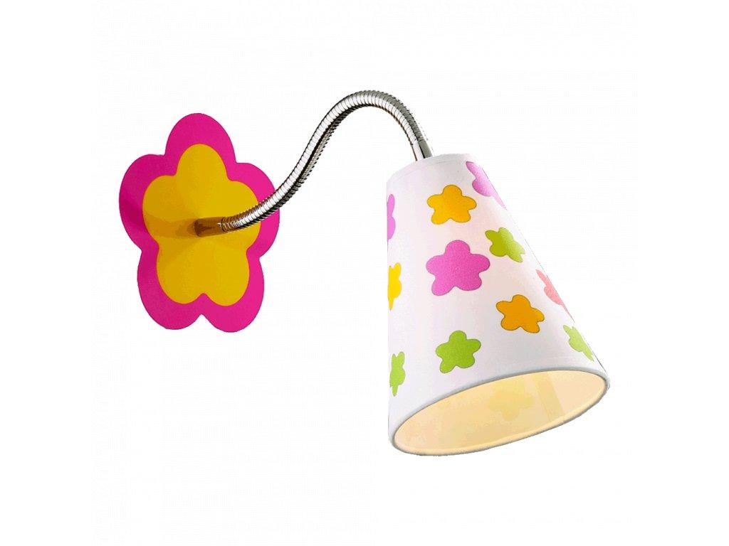 PREZENT 28029 FLORIST dětské nástěnné svítidlo
