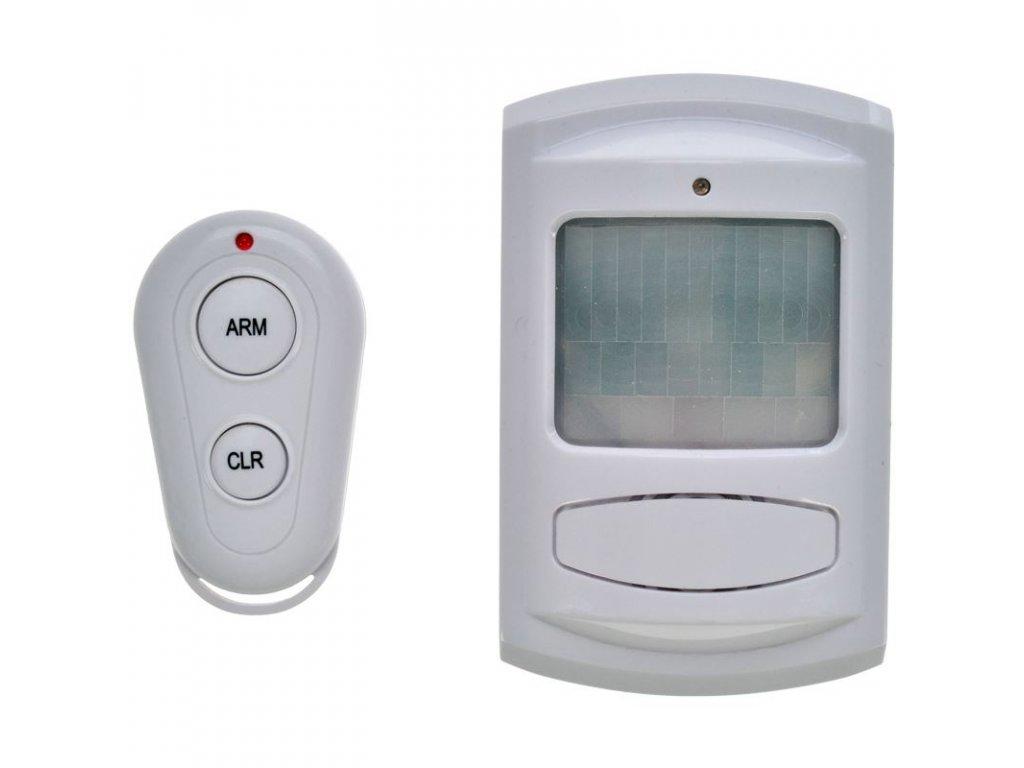 Solight GSM Alarm, pohybový senzor, dálk. ovl., bílý