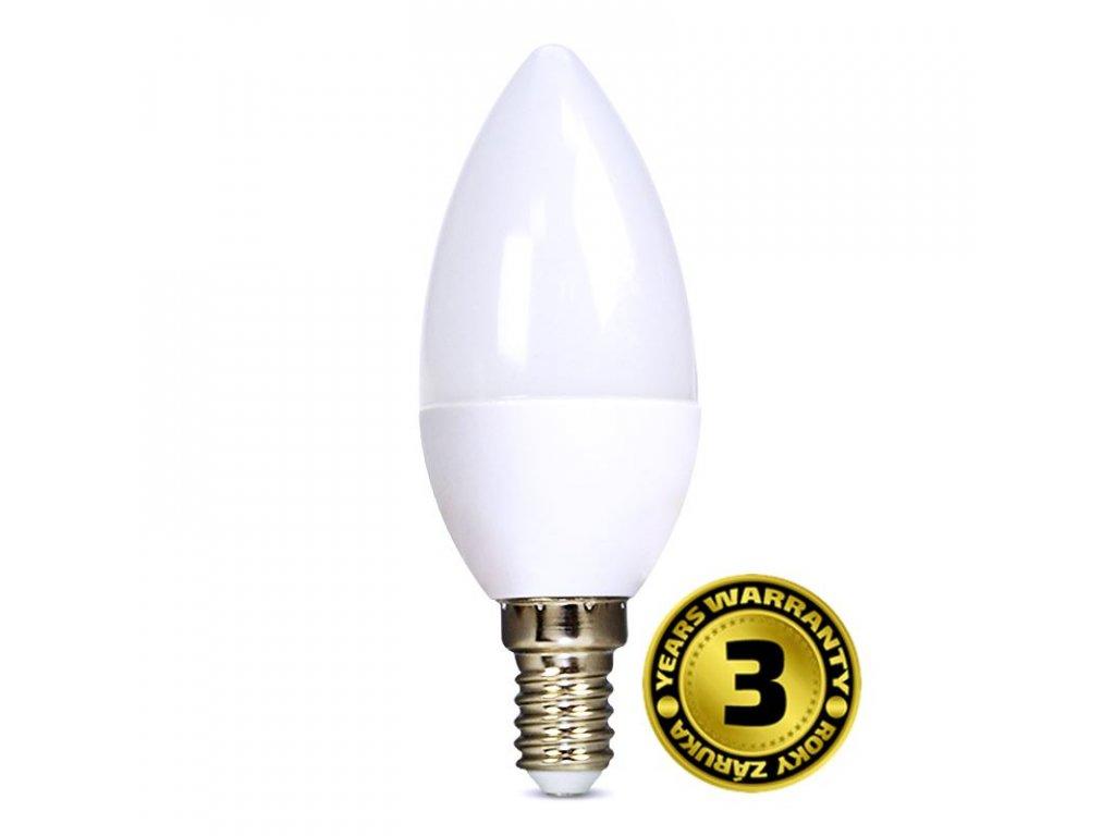 WZ410 Solight LED žárovka, svíčka, 6W, E14, 4000K, 450lm