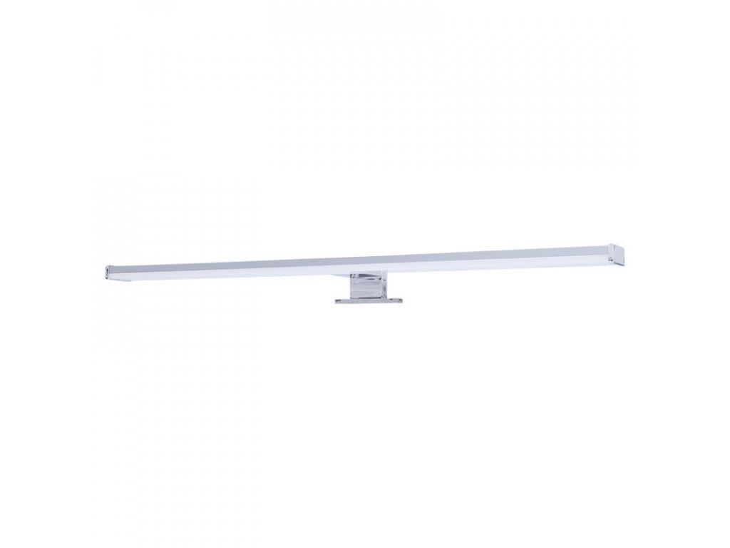 Solight LED koupelnové osvětlení nad zrcadlo, 12W, 900lm, 4000K, IP44, 60cm, stříbrné