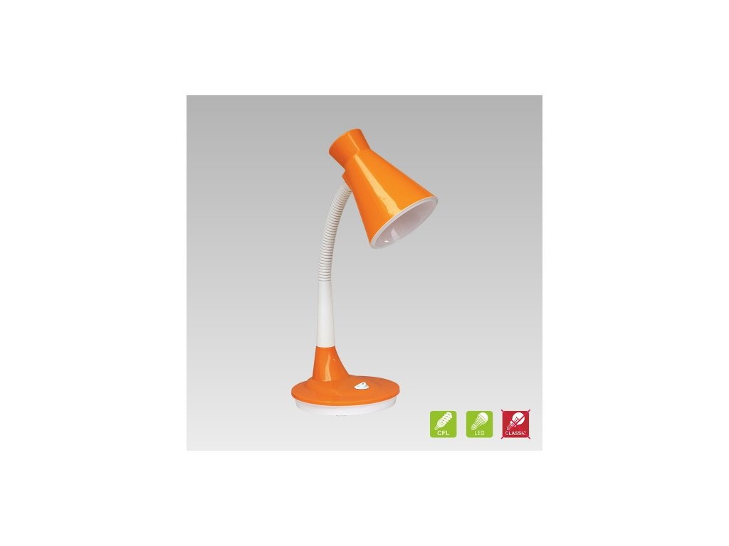 Prezent Lampa PAPAGENO 1xE27/15W, ORANGE TABLE 26014