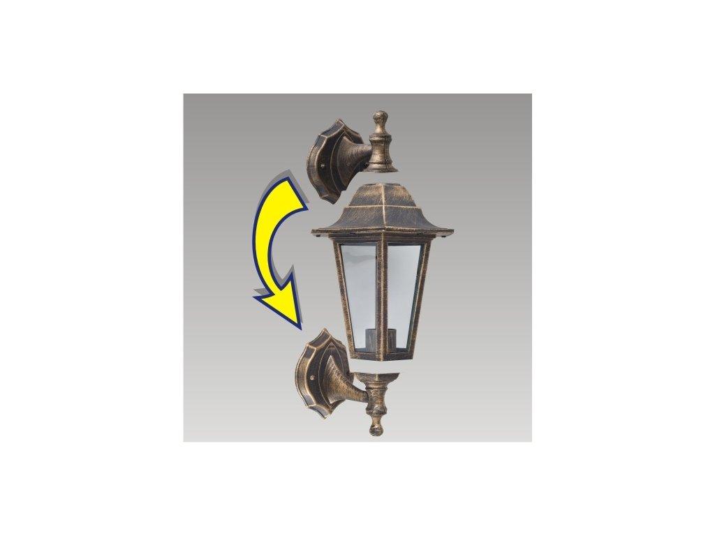 Prezent 3081 CAPRI venkovní nástěnné svítidlo