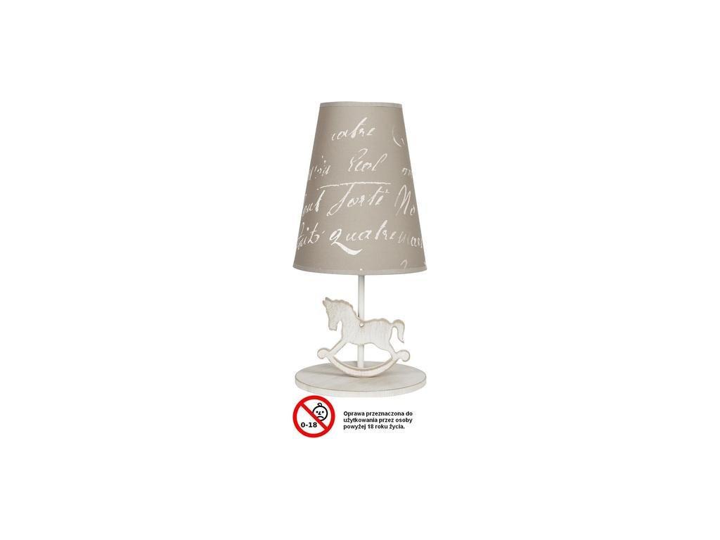 NOWODVORSKI 6377 dětská stolní lampa PONY