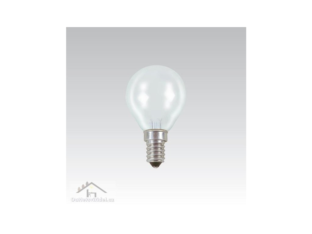 NBB BOHEMIA žárovka AT 240V 40W E14 CLEAR
