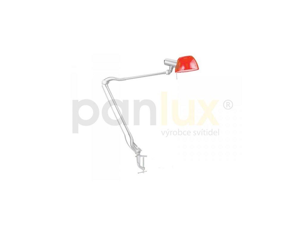 PANLUX GINEVRA DUO STG2/R stolní lampa červená